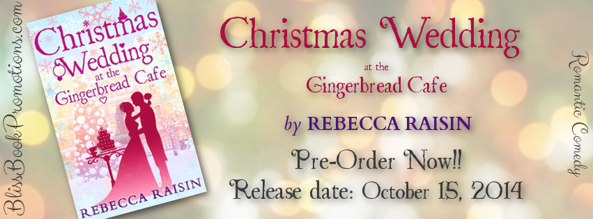 Book News: Christmas Wedding at the Gingerbread Cafe