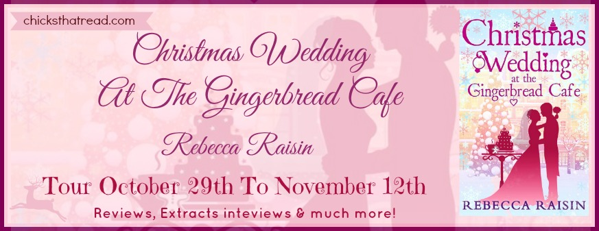 Blog Tour Review: Christmas Wedding at the Gingerbread Cafe
