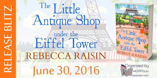 Book News: The Little Antique Shop Under The Eiffel Tower Release Day Blitz