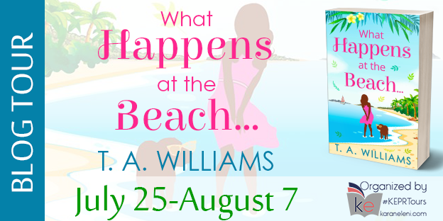 Blog Tour: What Happens at the Beach