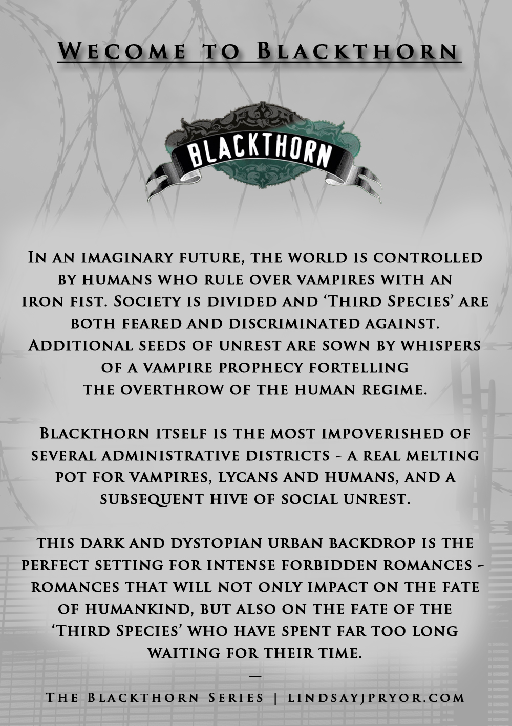 blackthorn-series-summmary