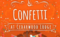 Celebrations and Confetti At Cedarwood Lodge Blog Tour