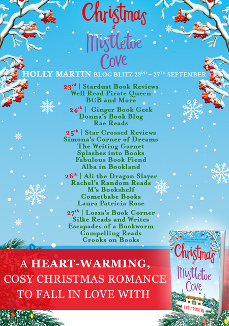 Blog Tour Review: Christmas at Mistletoe Cove