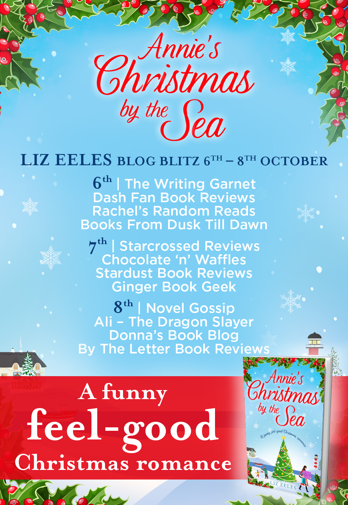 Blog Tour Review: Annie's Christmas by the Sea