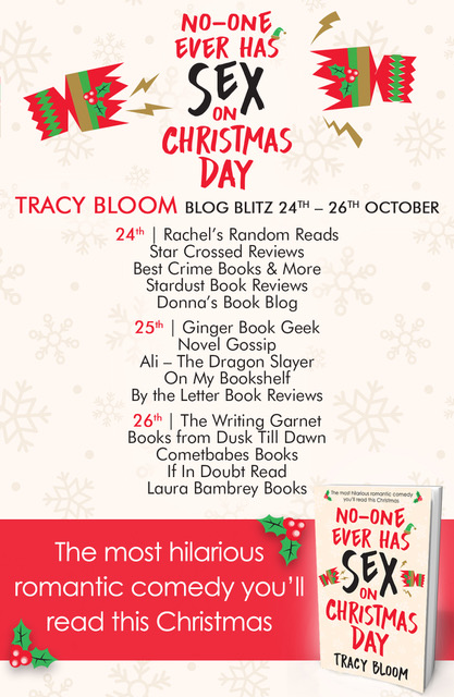 Blog Tour Review: No-one Ever Has Sex on Christmas Day
