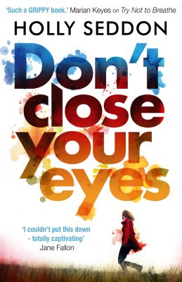 Book News: Don't Close Your Eyes Cover Reveal