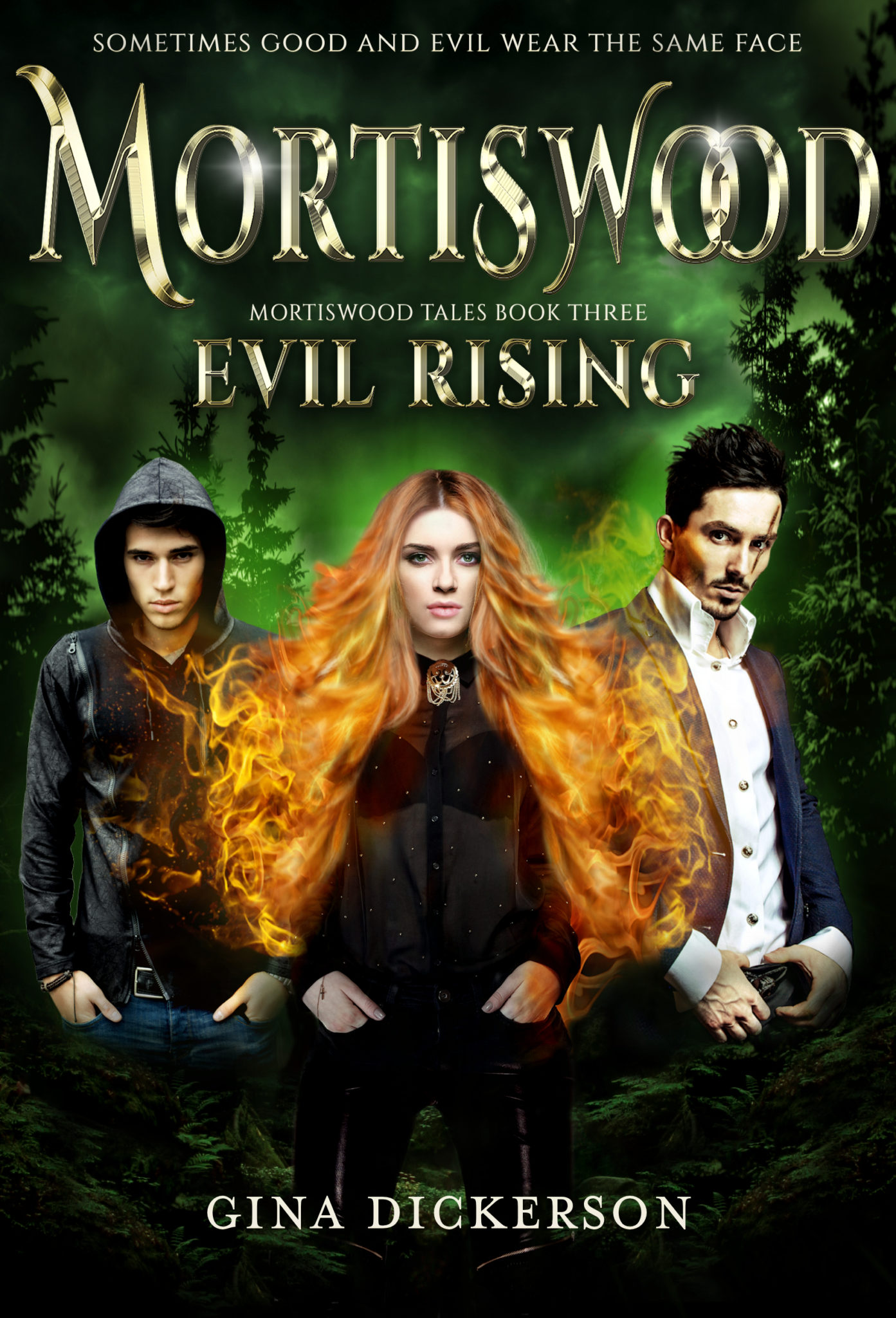 Evil Rising by Gina Dickerson