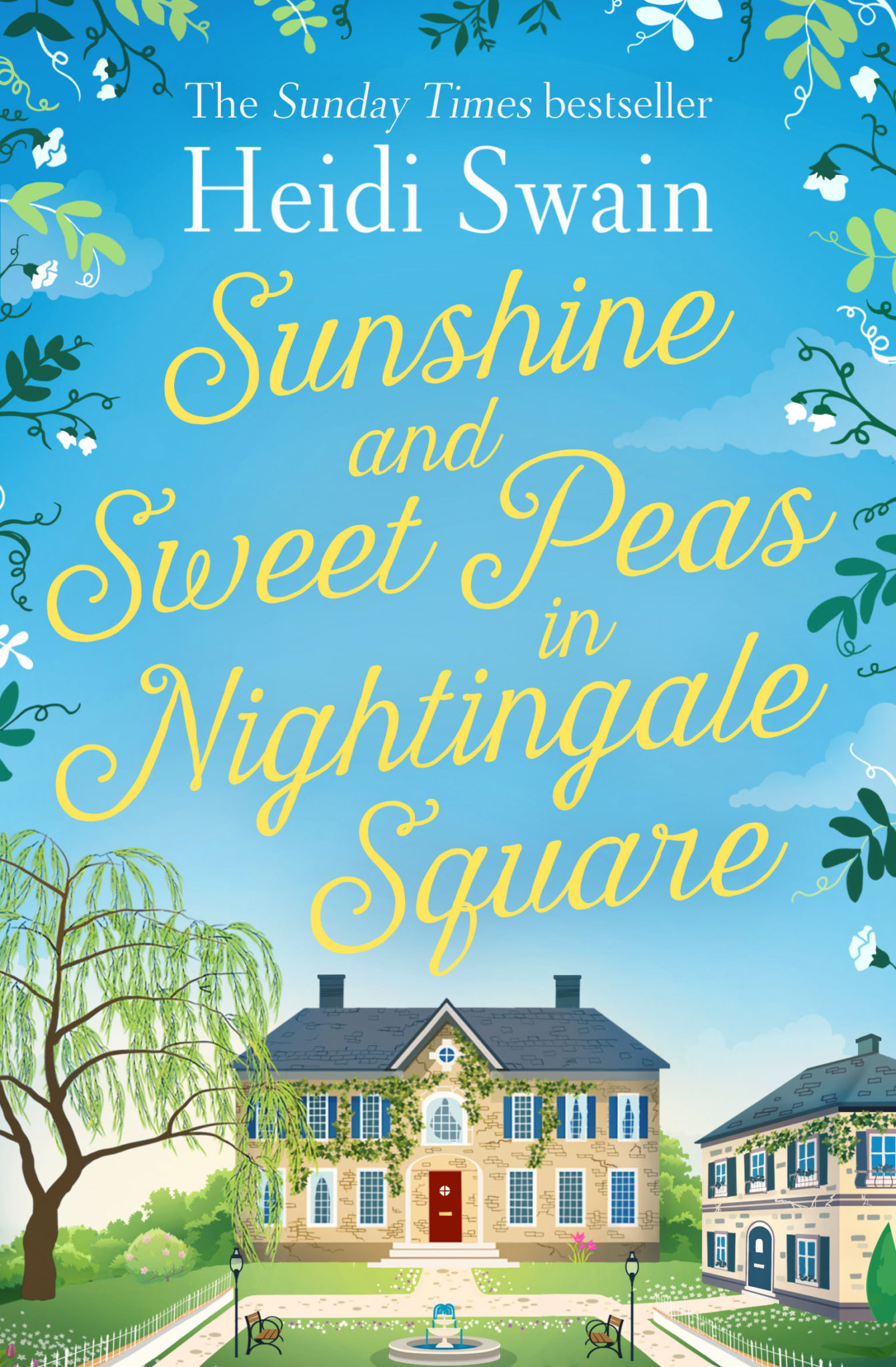 Book News: Sunshine and Sweet Peas Cover Reveal