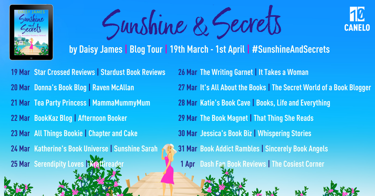 Blog Tour: Sunshine and Secrets