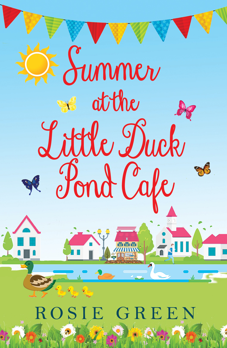 Book News: Summer at The Little Duck Pond Café Cover Reveal