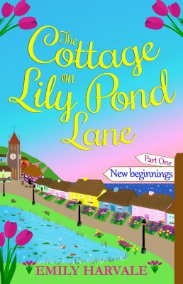 Book News: The Cottage on Lily Pond Lane Part One: New Beginnings Cover Reveal