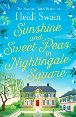 Blog Tour: Sunshine and Sweet Peas in Nightingale Square