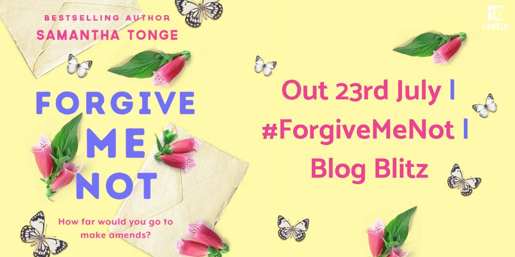 Blog Tour Review: Forgive Me Not