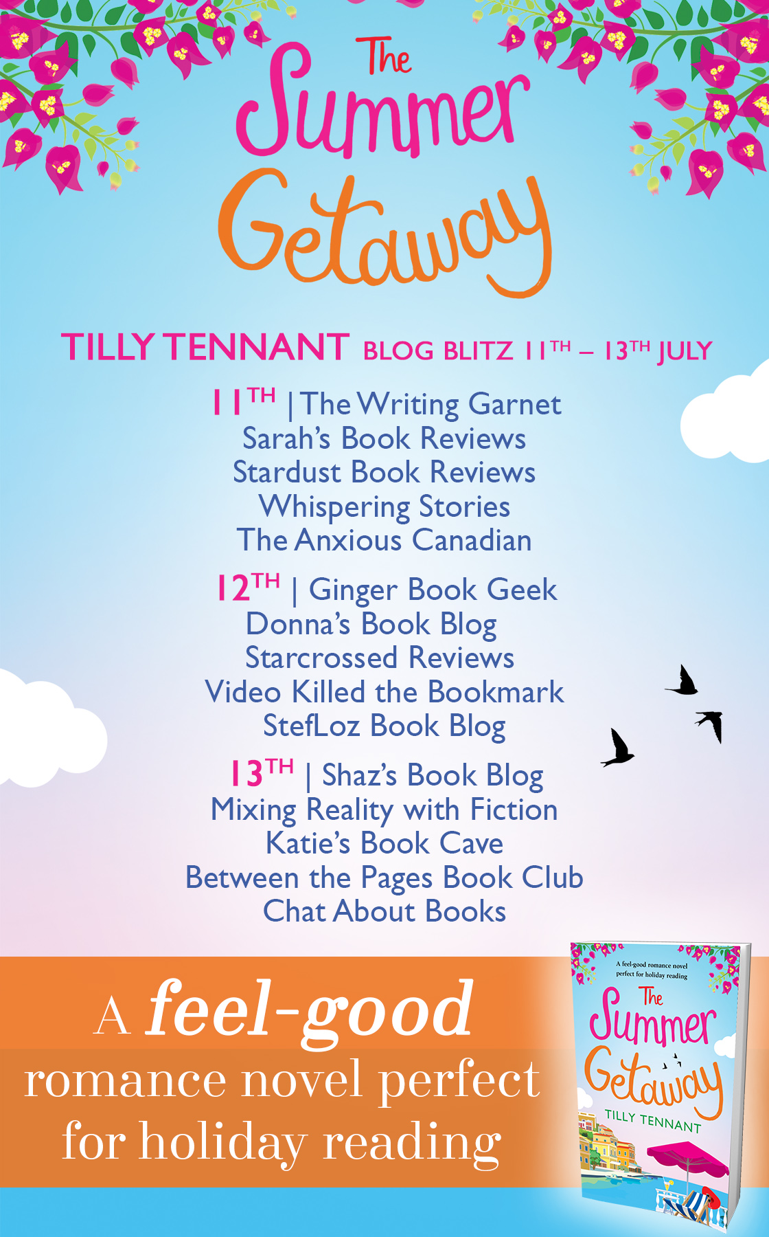 Blog Tour Review: The Summer Getaway