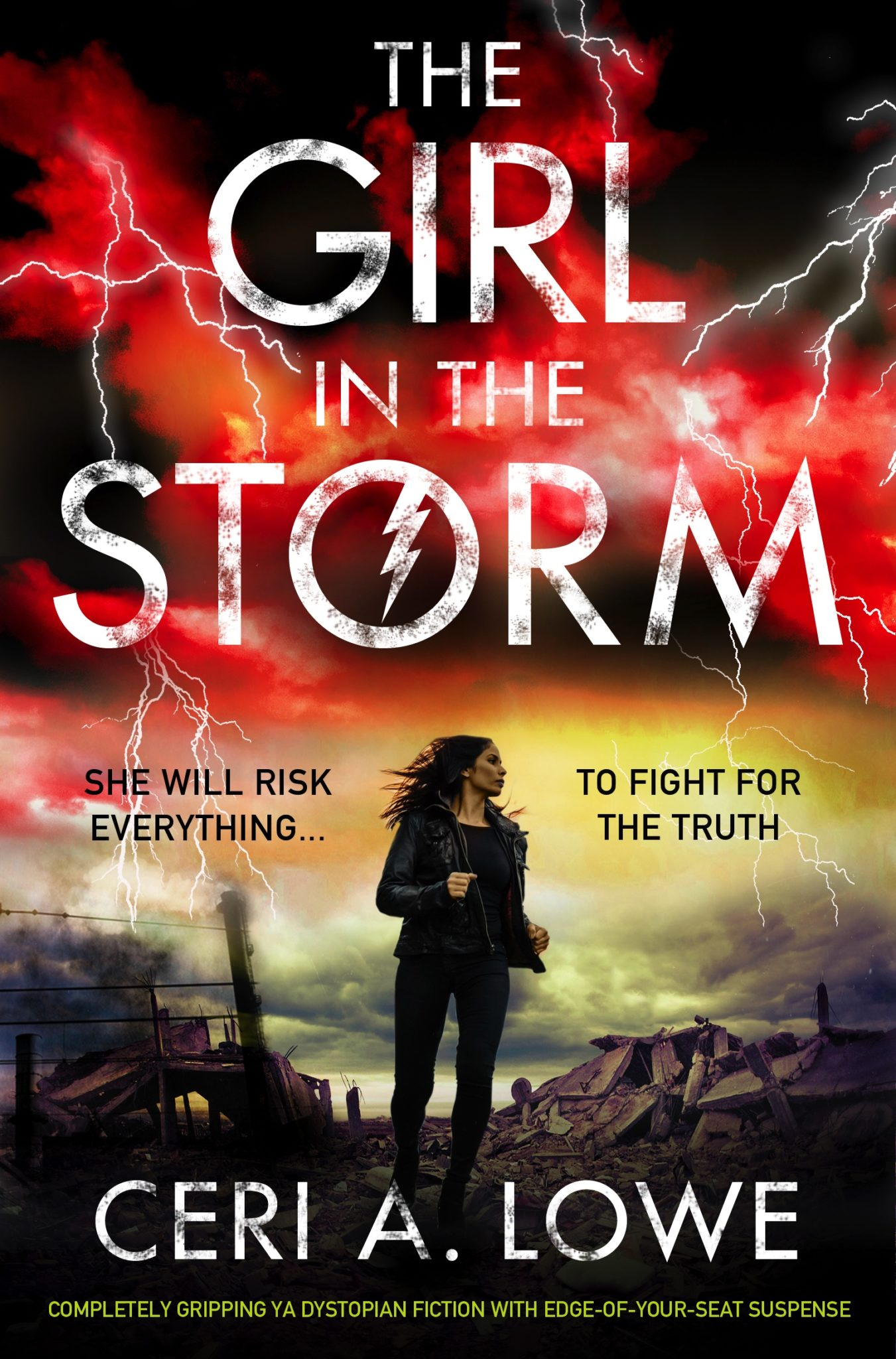 The Girl in the Storm (Paradigm Trilogy, #2) by Ceri A. Lowe