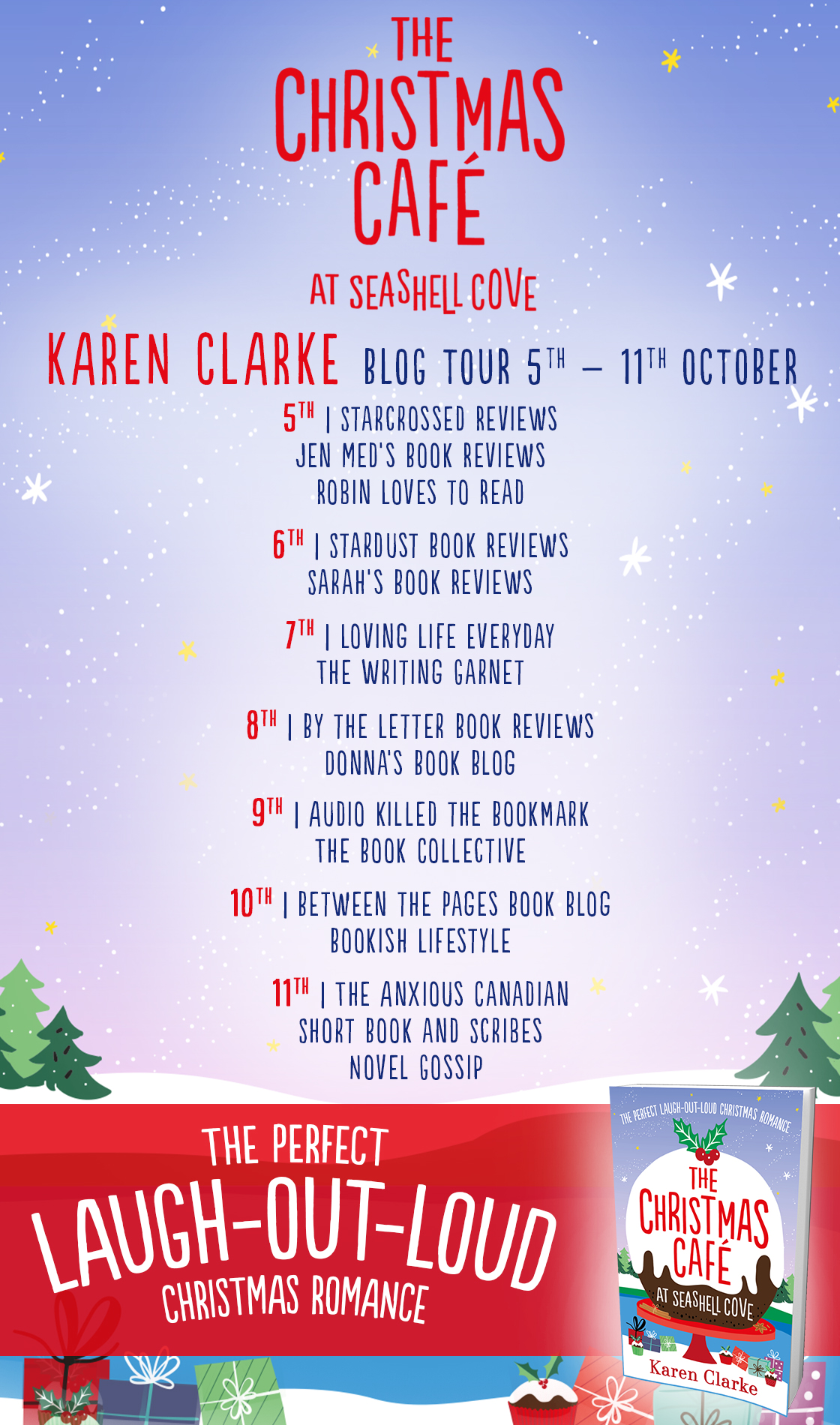 Blog Tour Review: The Christmas Cafe at Seashell Cove