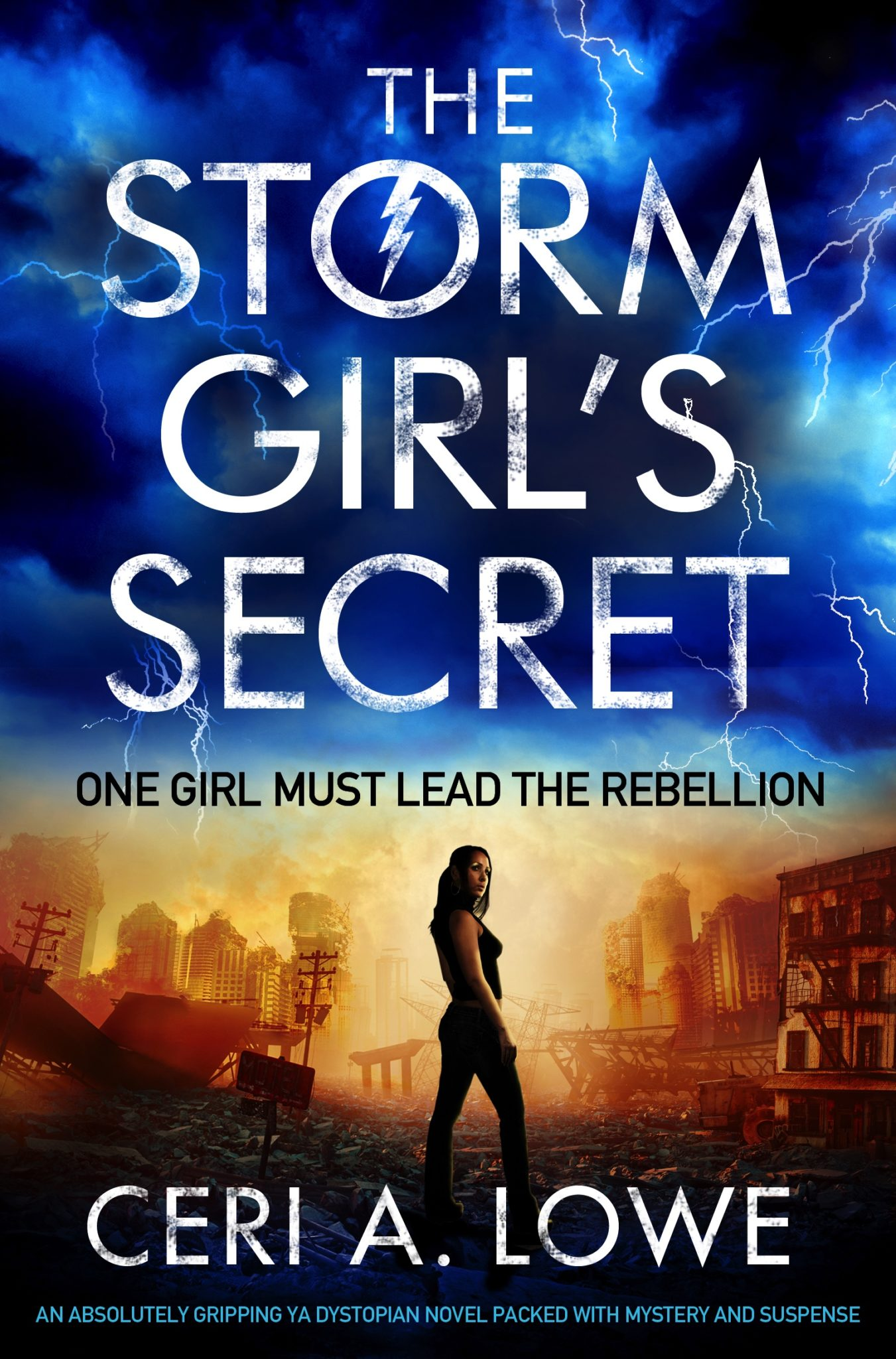 The Storm Girl's Secret by Ceri A. Lowe