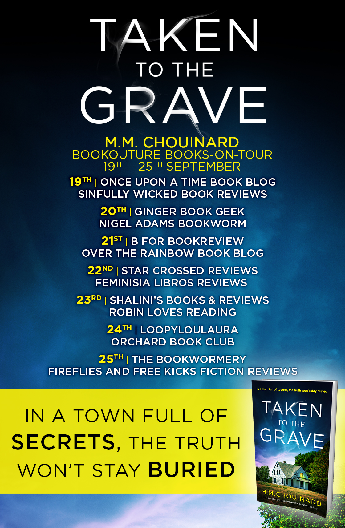 Blog Tour Review: Taken to the Grave