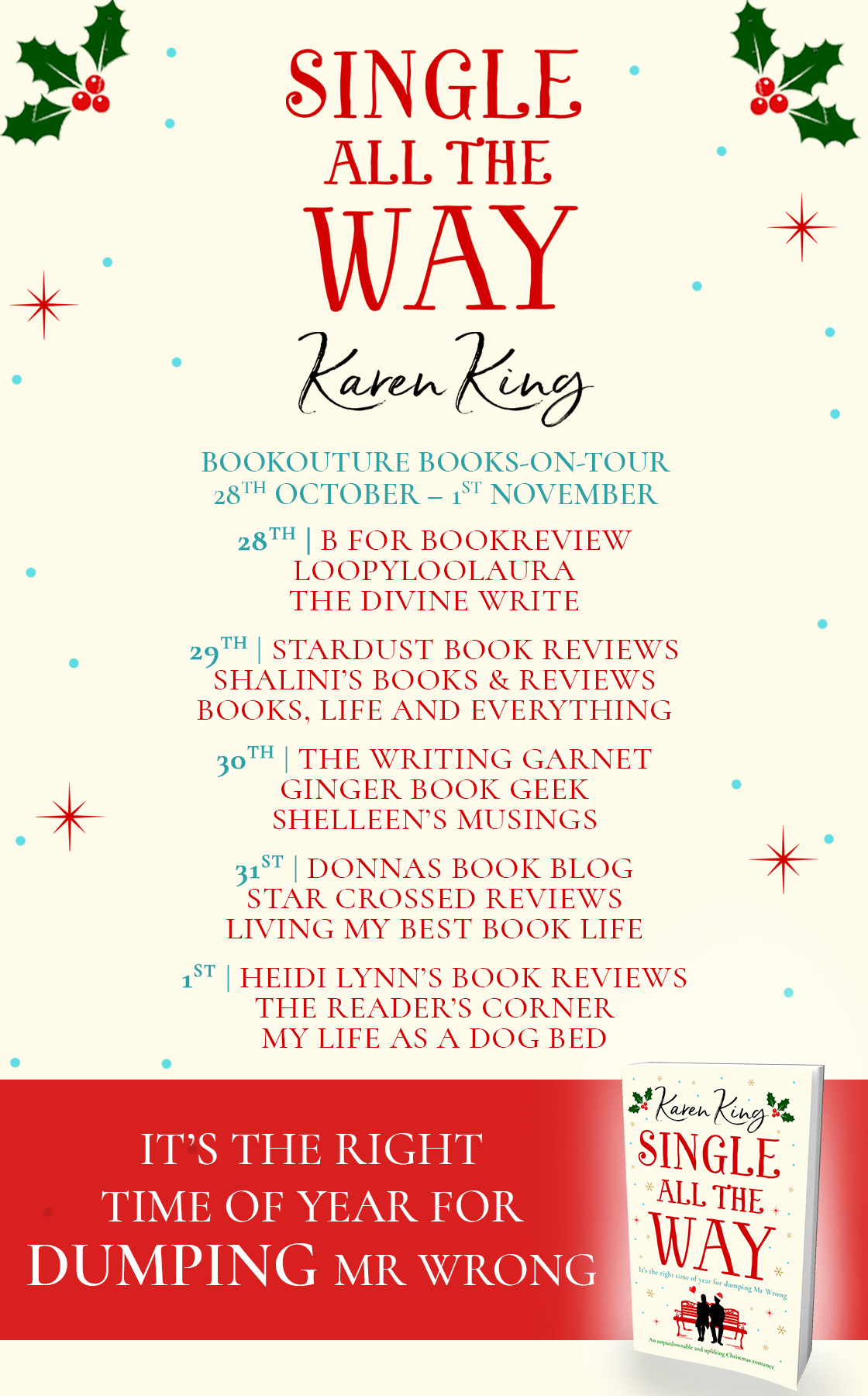 Blog Tour Review: Single All The Way