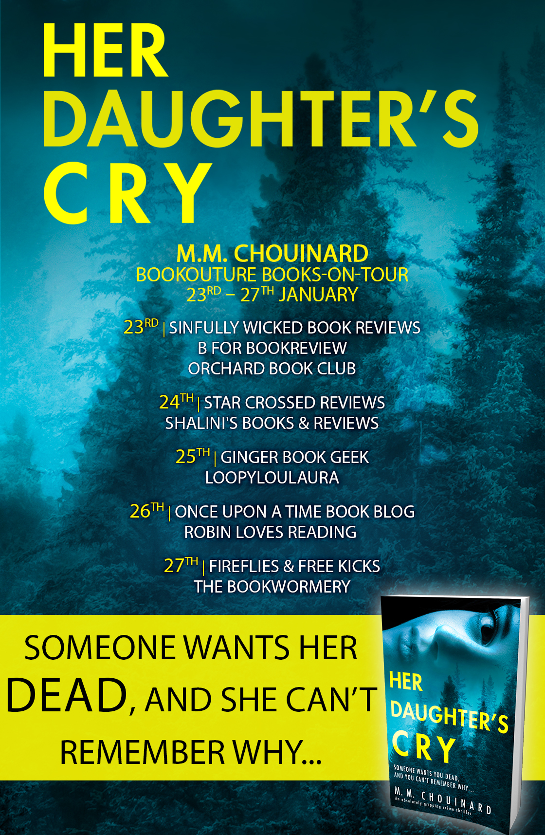 Blog Tour Review: Her Daughter's Cry