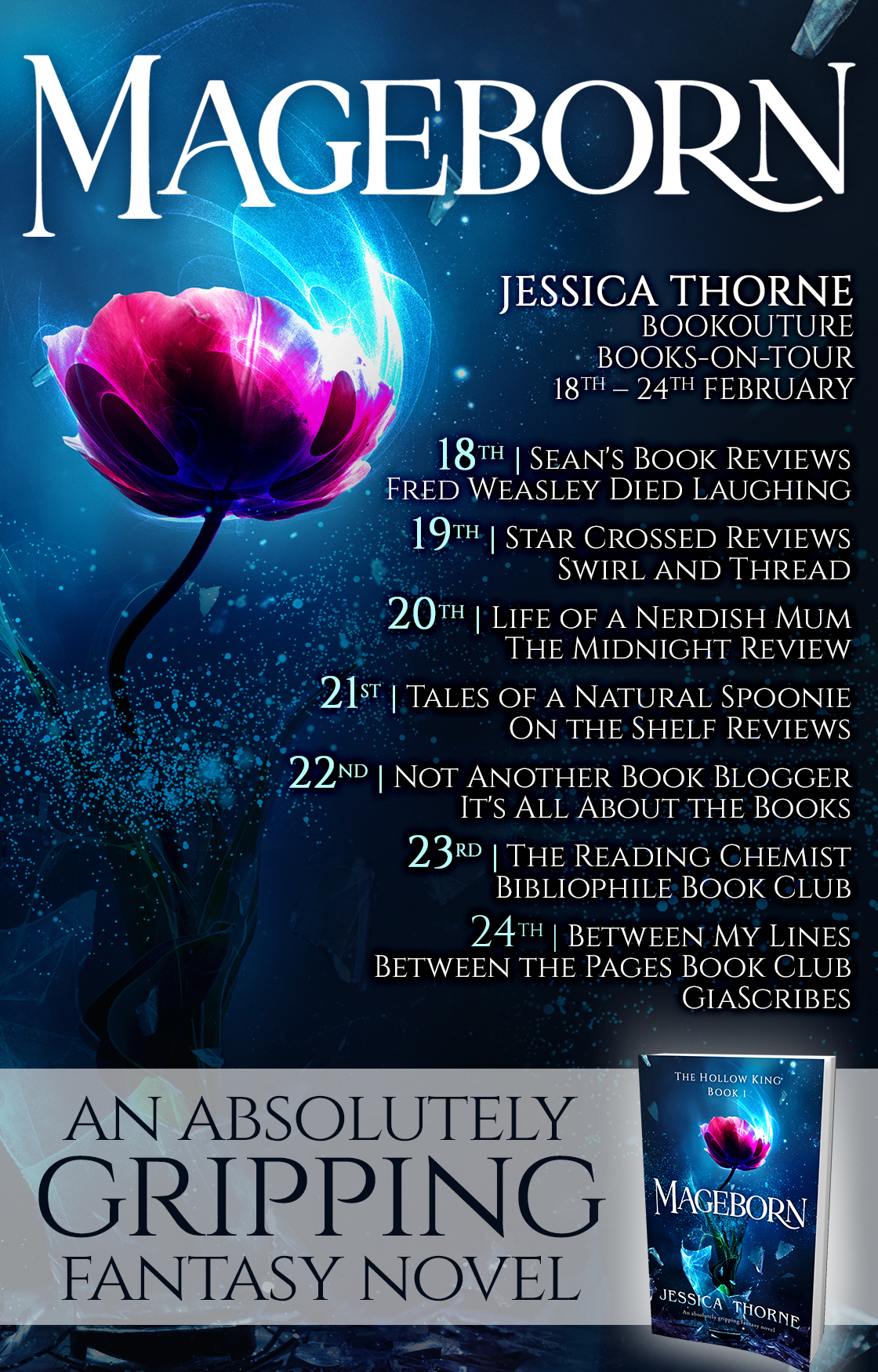 Blog Tour Review: Mageborn