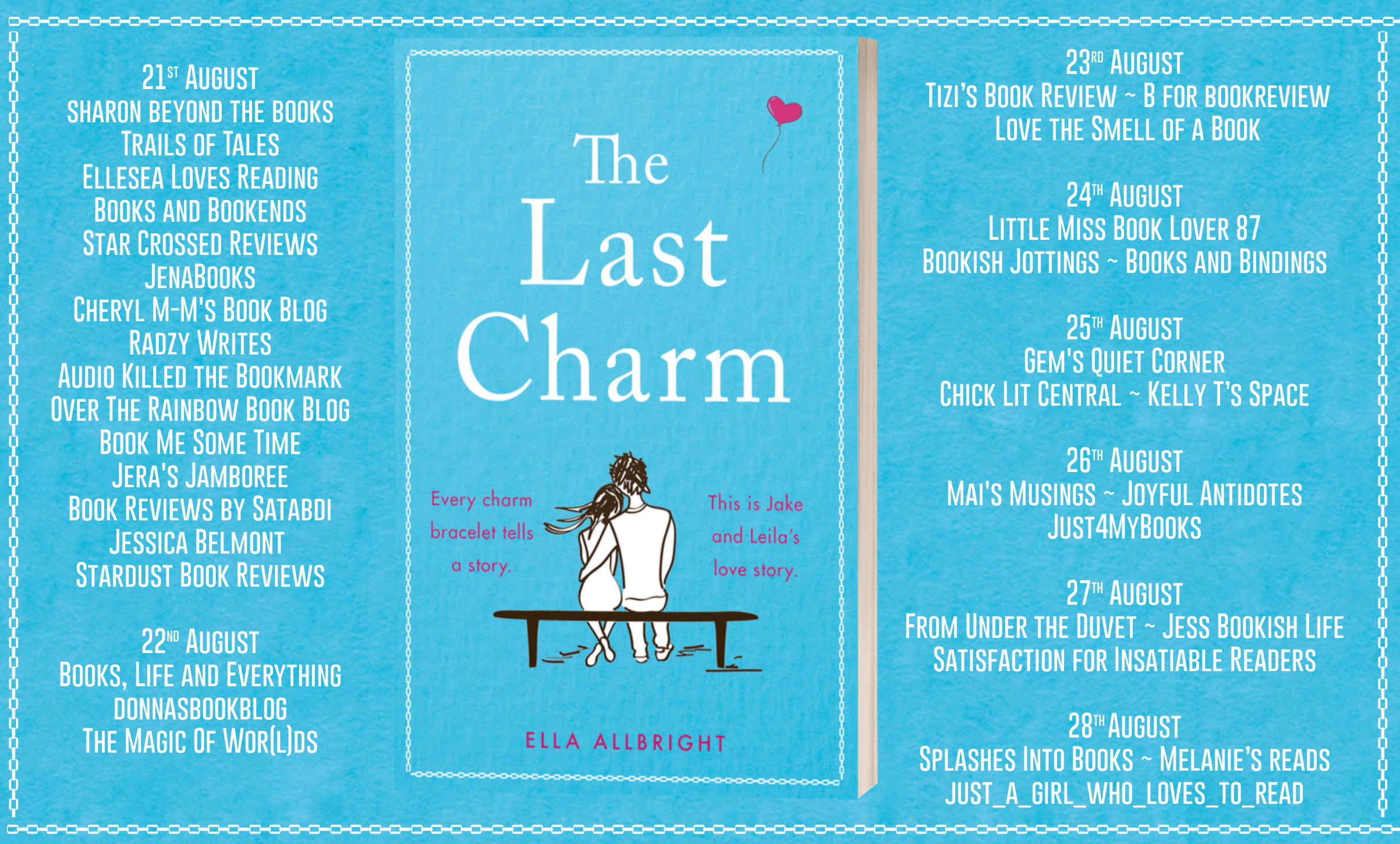 Blog Tour Review: The Last Charm