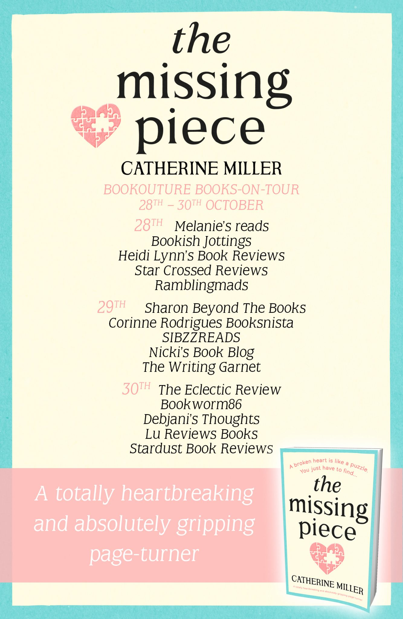 Blog Tour Review: The Missing Piece