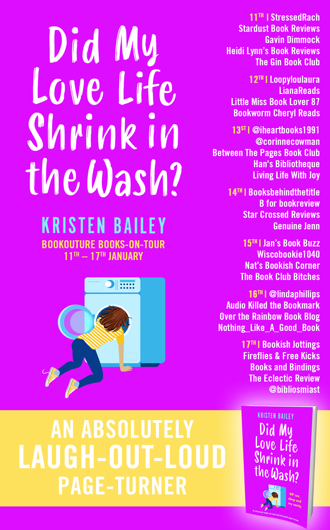 Blog Tour Review: Did My Love Life Shrink in the Wash?