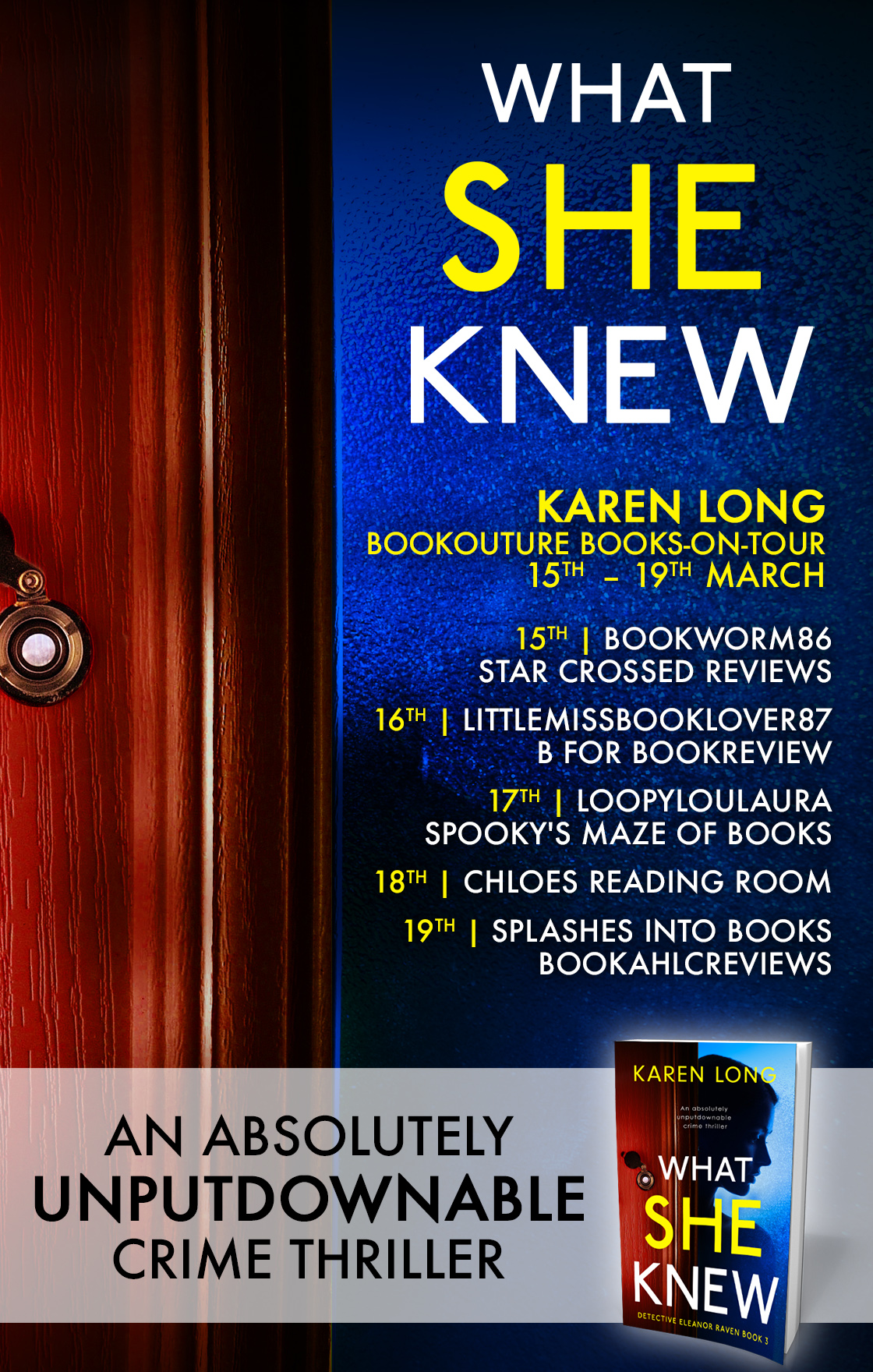 Blog Tour Review: What She Knew