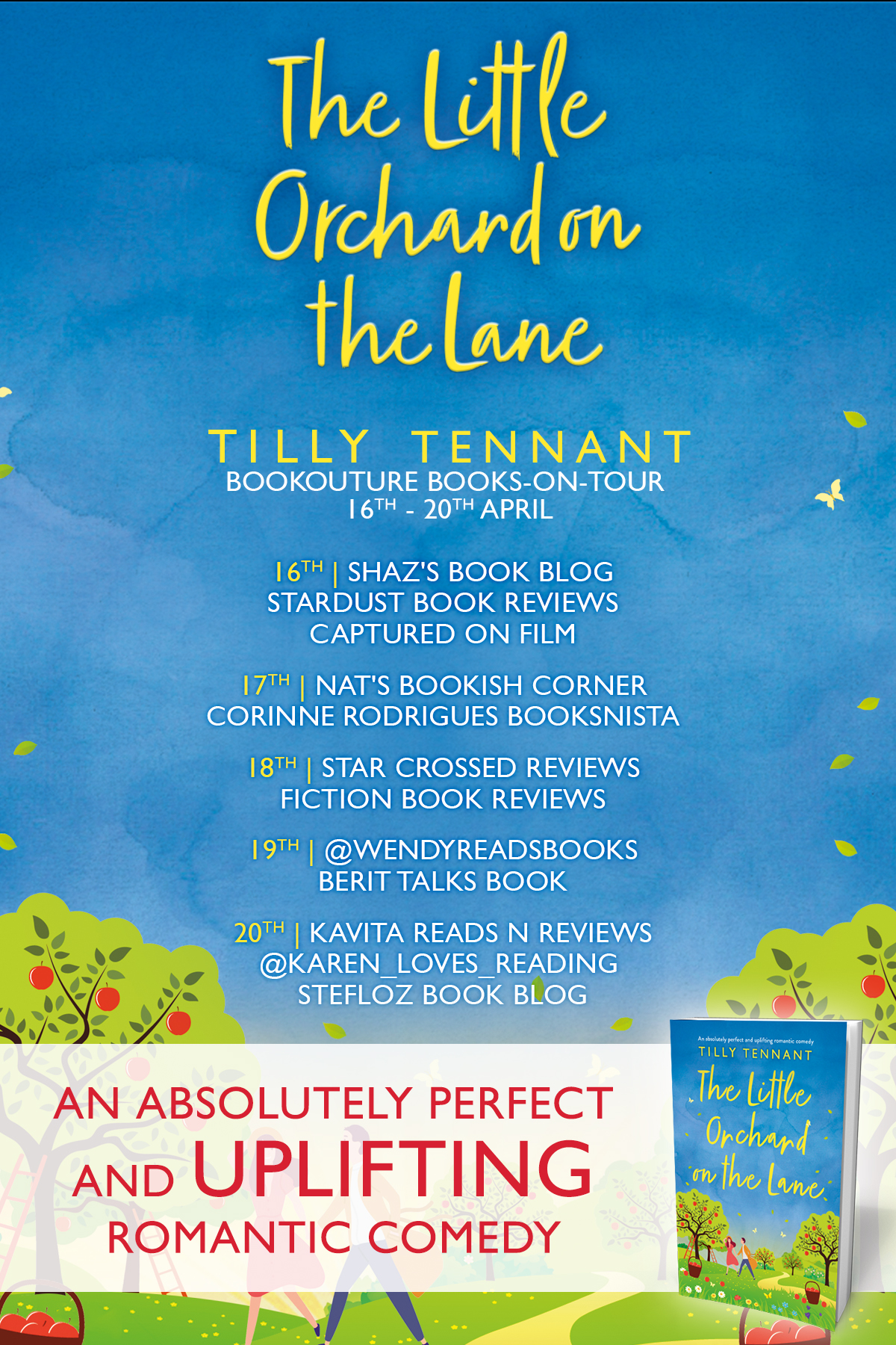 Blog Tour Review: The Little Orchard on the Lane
