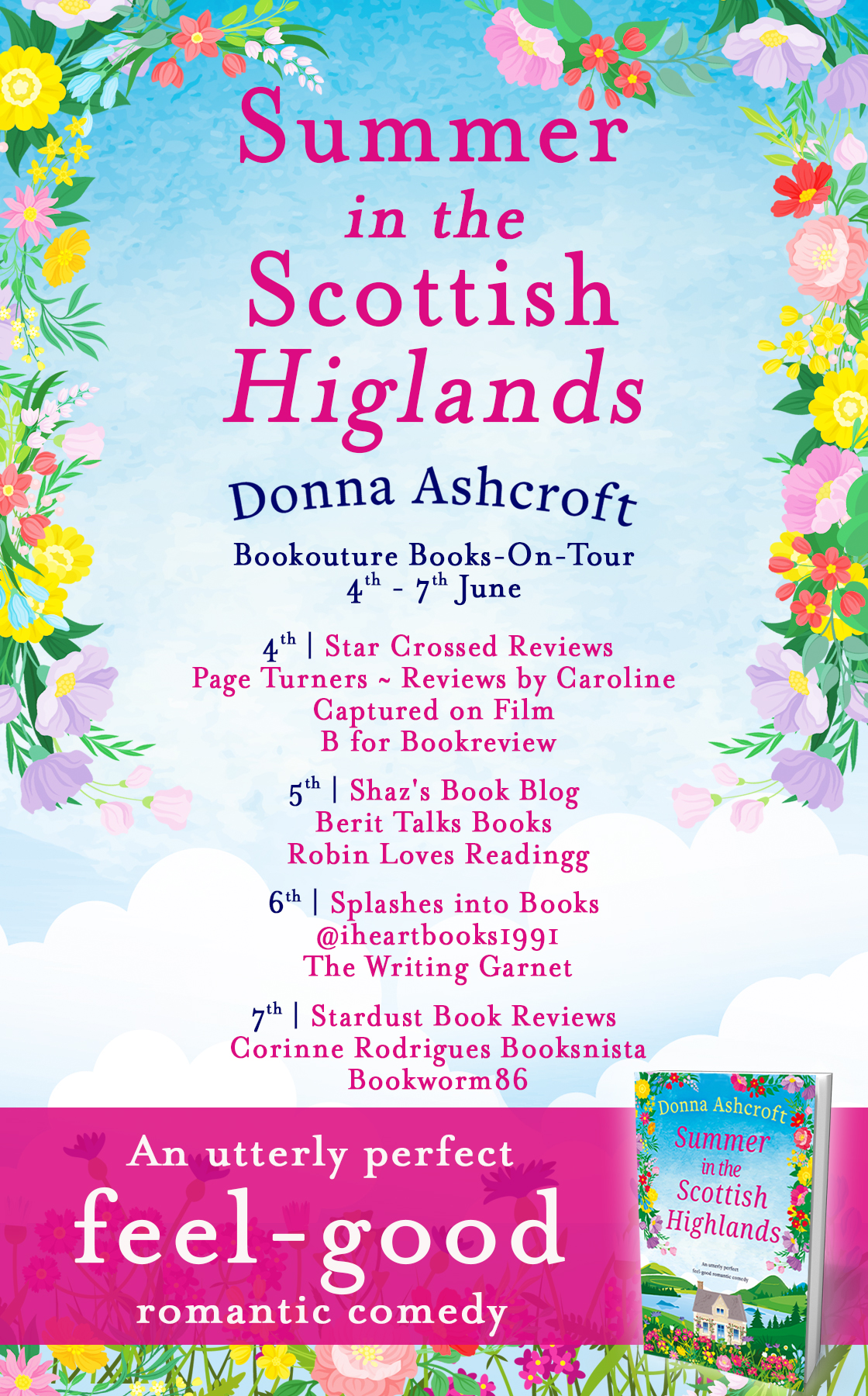 Blog Tour Review: Summer in the Scottish Highlands