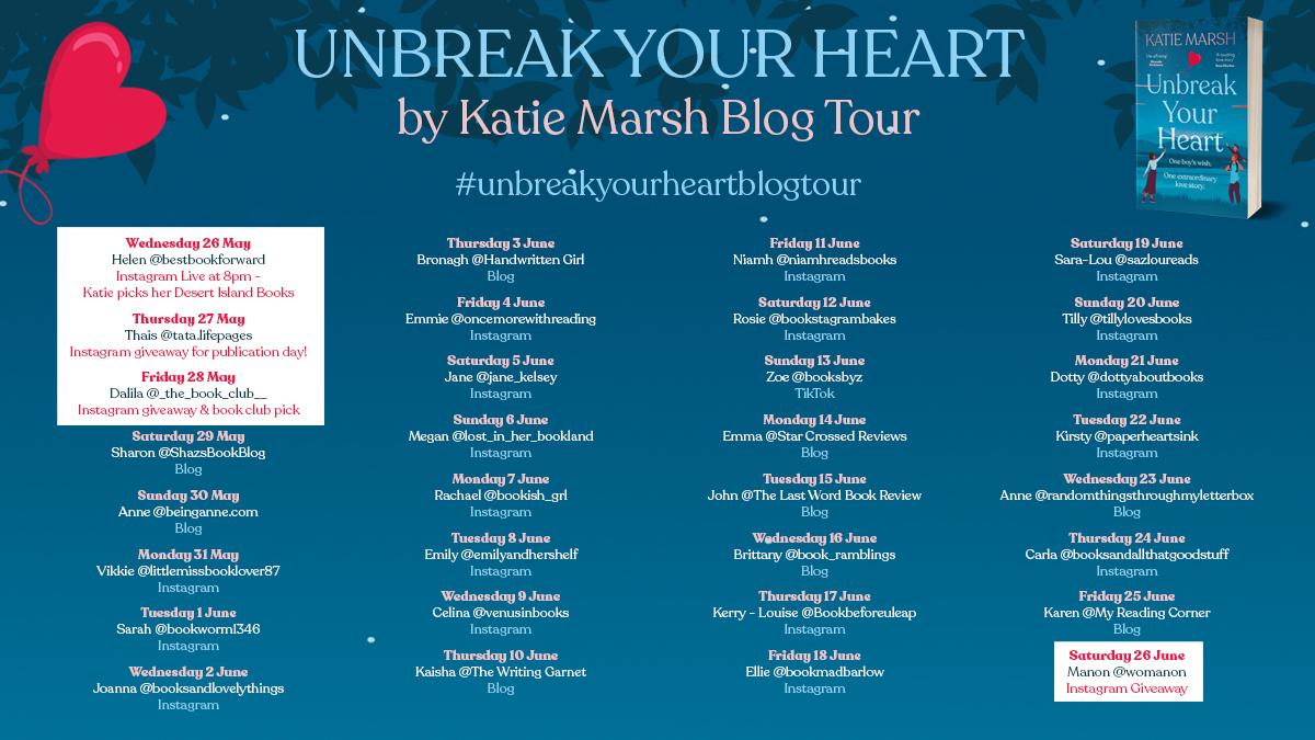 Blog Tour Review: Unbreak Your Heart