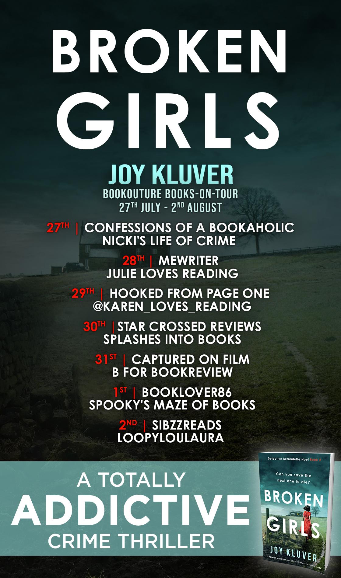 Blog Tour Review: Broken Girls