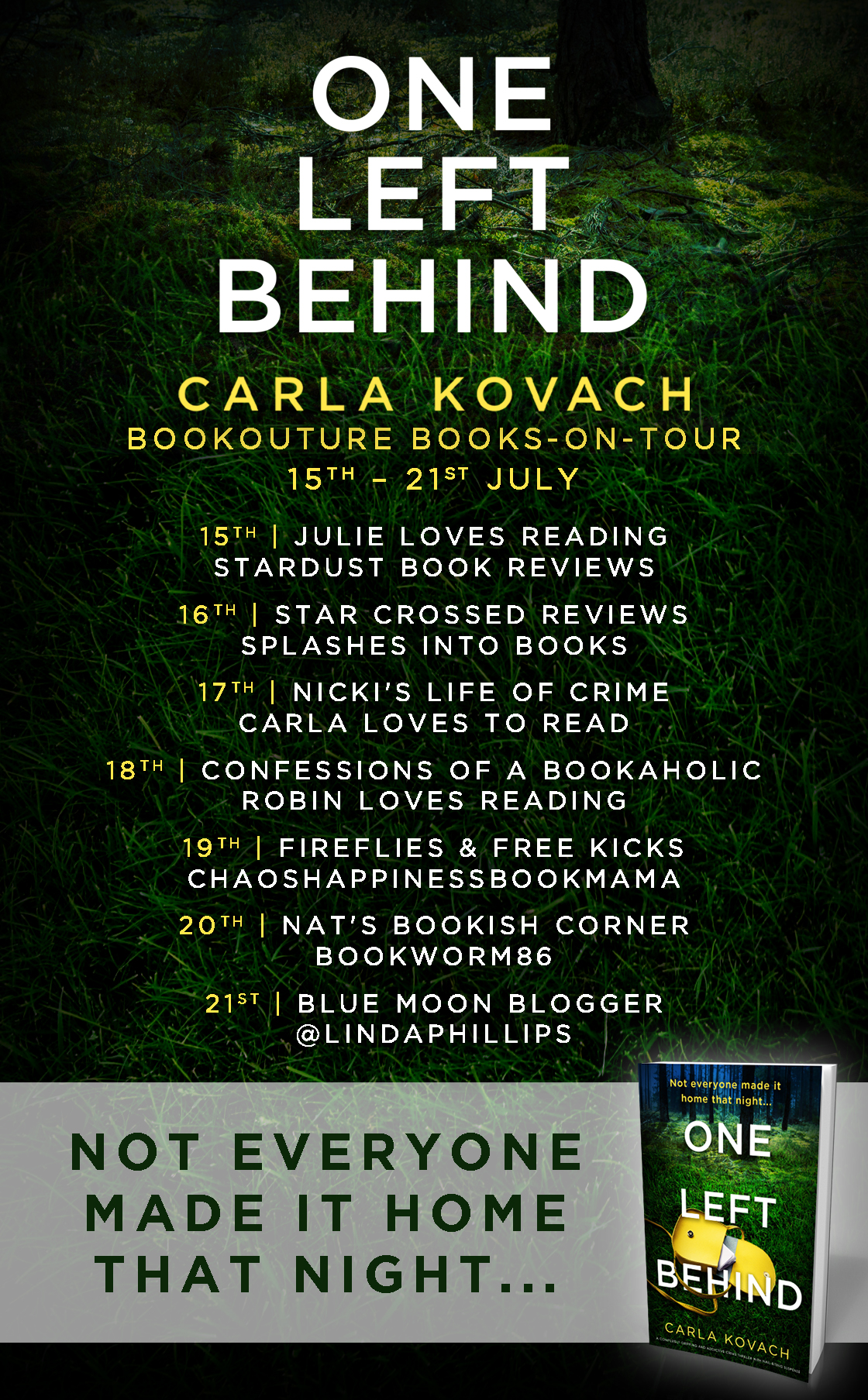 Blog Tour Review: One Left Behind