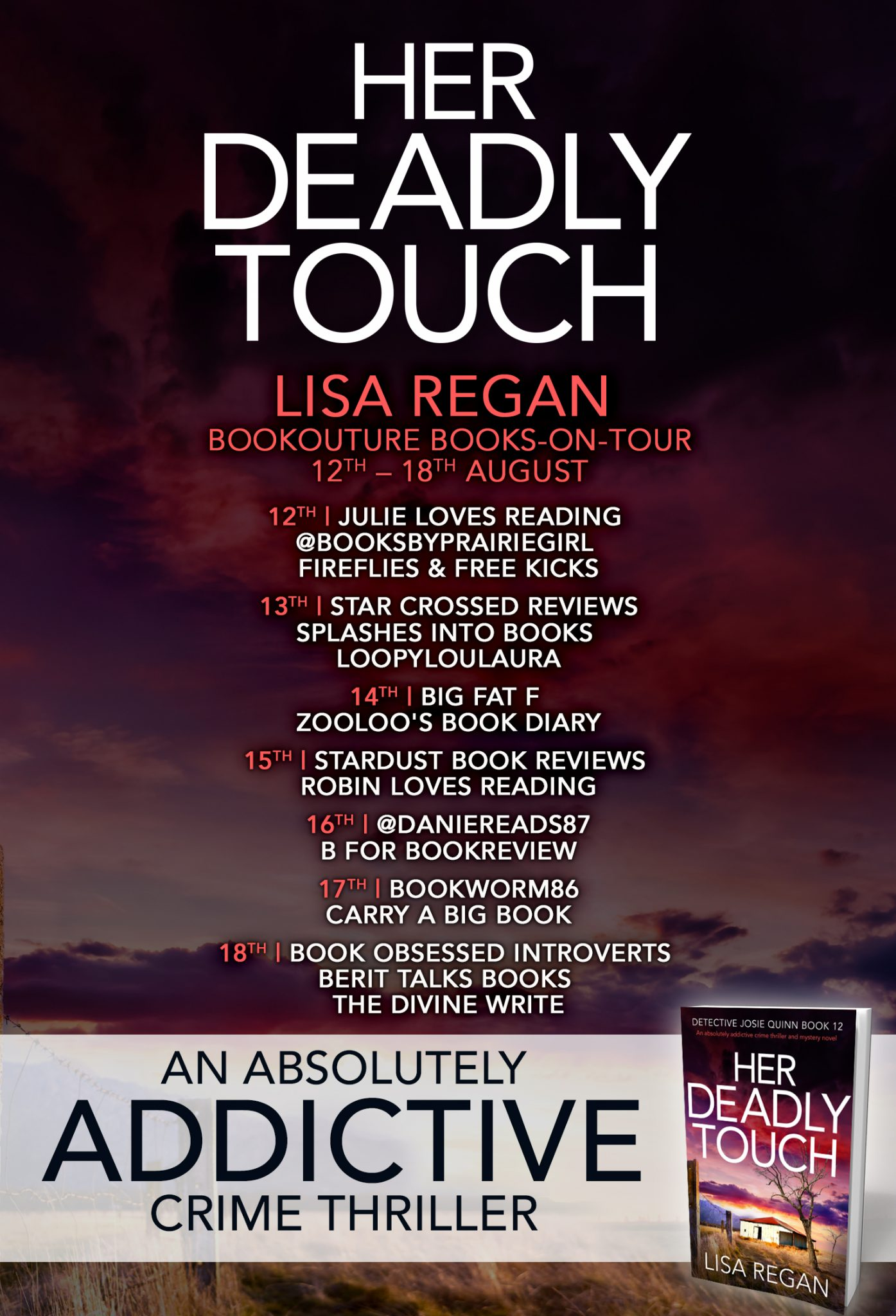 Blog Tour Review: Her Deadly Touch