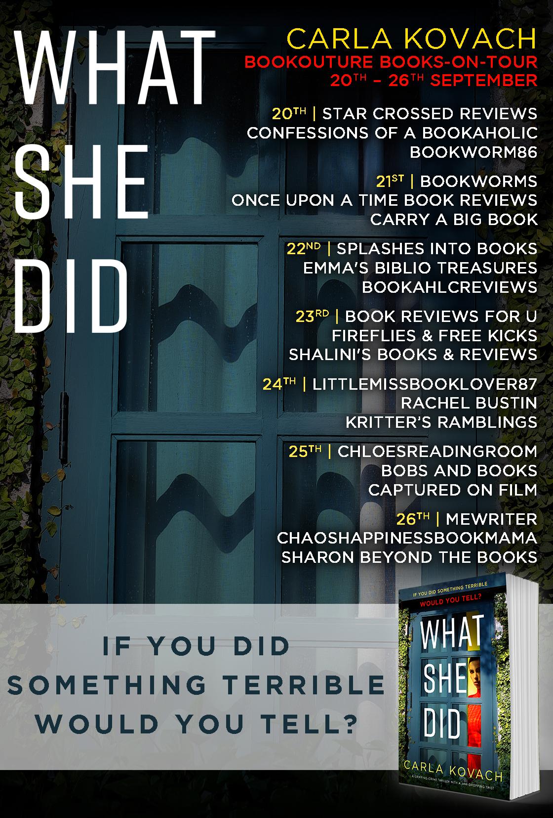 Blog Tour Review: What She Did
